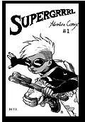 SuperGrrrl Adventure Comix
