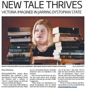 Hobson's Bay Leader article about Thrive